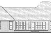 European Style House Plan - 3 Beds 2 Baths 1879 Sq/Ft Plan #21-280 Exterior - Rear Elevation