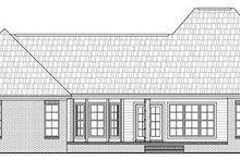 Home Plan - European Exterior - Rear Elevation Plan #21-280