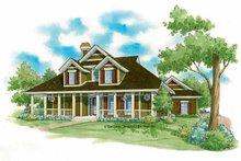 Victorian Exterior - Front Elevation Plan #930-222