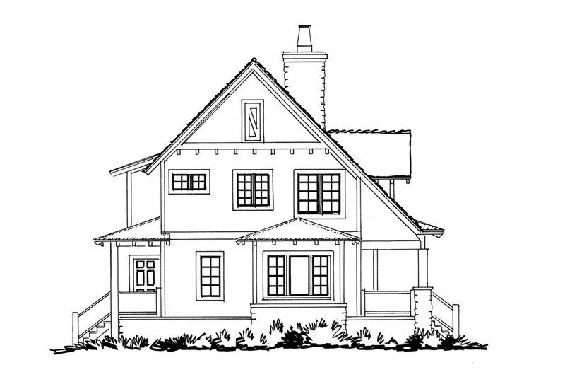 Cabin Exterior - Other Elevation Plan #942-33 - Houseplans.com