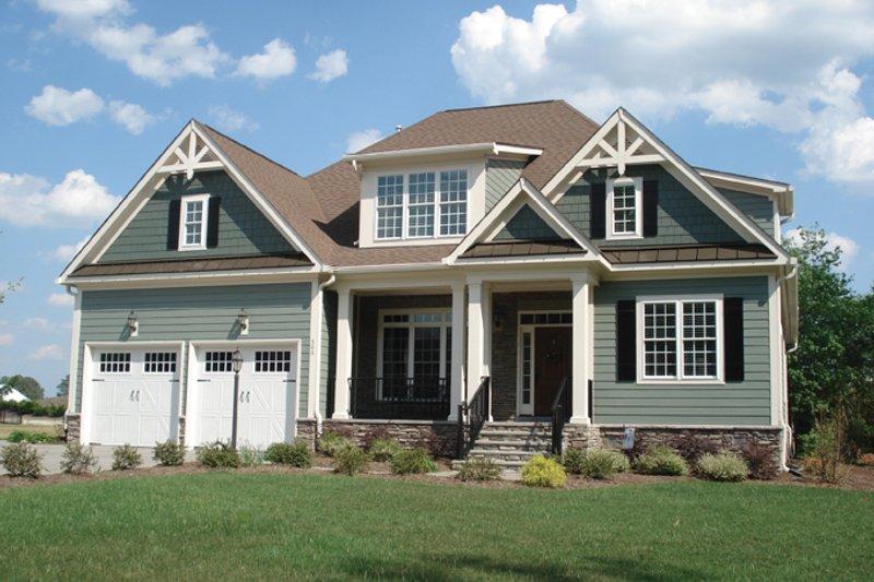 Craftsman Exterior - Front Elevation Plan #927-906