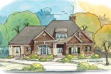 Home Plan Design - Bungalow Exterior - Front Elevation Plan #429-376