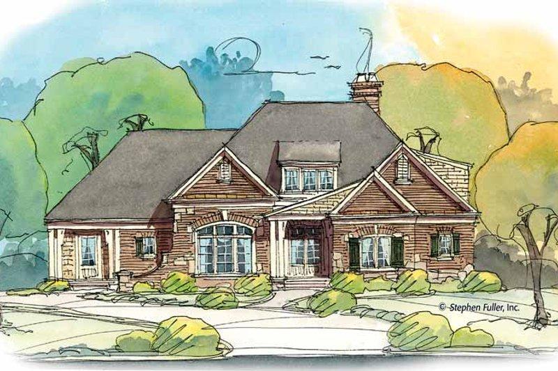 House Plan Design - Bungalow Exterior - Front Elevation Plan #429-376
