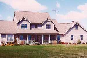 Country Exterior - Front Elevation Plan #421-102