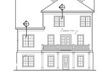 Home Plan - Traditional Exterior - Rear Elevation Plan #927-537