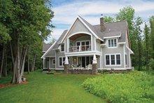Architectural House Design - Craftsman Exterior - Rear Elevation Plan #928-54
