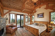 House Plan Design - Craftsman Interior - Master Bedroom Plan #942-30