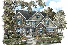 House Plan Design - Craftsman Exterior - Front Elevation Plan #929-844