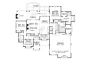 Craftsman Style House Plan - 3 Beds 2 Baths 1743 Sq/Ft Plan #929-999 Floor Plan - Main Floor Plan