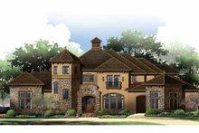 Architectural House Design - Mediterranean Exterior - Rear Elevation Plan #952-209
