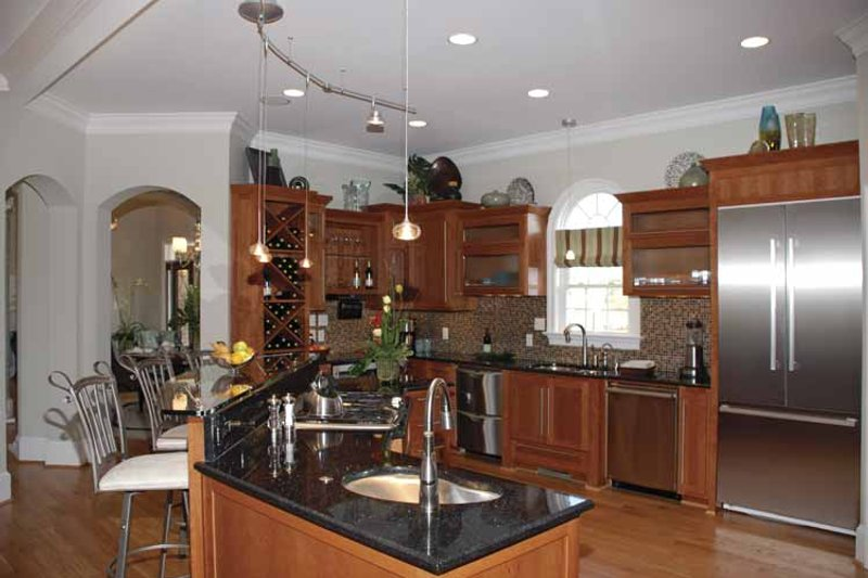 Country Interior - Kitchen Plan #952-78 - Houseplans.com