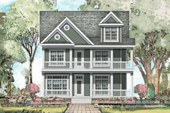 Traditional Exterior - Front Elevation Plan #424-217