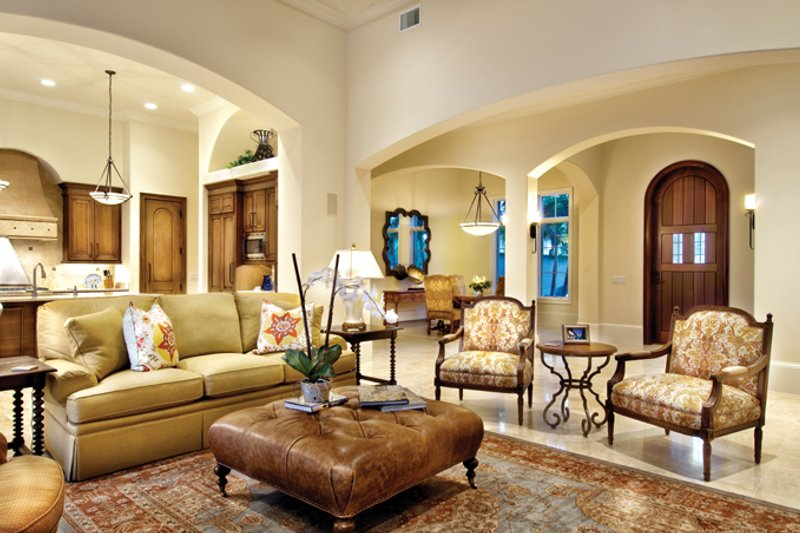 Mediterranean Interior - Other Plan #930-446 - Houseplans.com