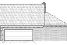 Contemporary Exterior - Other Elevation Plan #21-402
