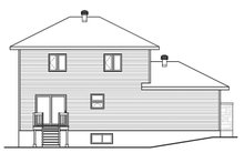 House Plan Design - Contemporary Exterior - Rear Elevation Plan #23-2644
