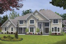 House Plan Design - Traditional Exterior - Front Elevation Plan #328-461