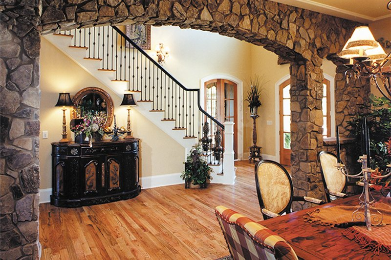 Traditional Interior - Dining Room Plan #437-56 - Houseplans.com