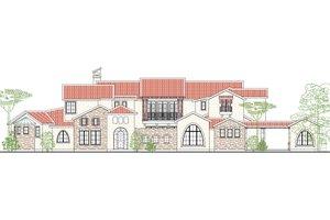 Dream House Plan - Mediterranean Exterior - Front Elevation Plan #80-215