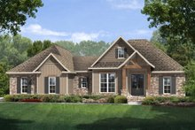 House Plan Design - Craftsman Exterior - Front Elevation Plan #430-99