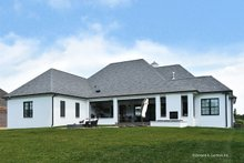 House Plan Design - European Exterior - Rear Elevation Plan #929-1009