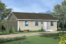 Dream House Plan - Traditional Exterior - Front Elevation Plan #57-221