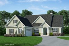 House Plan Design - Country Exterior - Front Elevation Plan #929-710