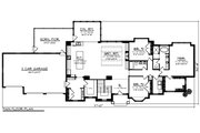 Ranch Style House Plan - 3 Beds 2 Baths 2784 Sq/Ft Plan #70-1467 Floor Plan - Main Floor Plan