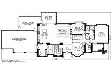 Ranch Floor Plan - Main Floor Plan Plan #70-1467
