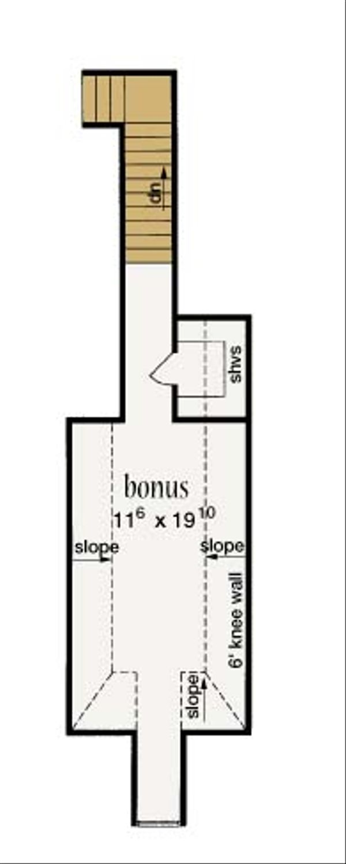 European Floor Plan - Other Floor Plan Plan #36-428