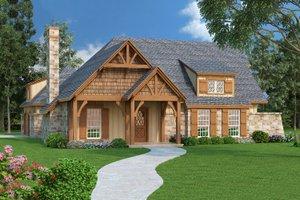Craftsman Exterior - Front Elevation Plan #45-374