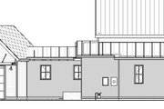 Modern Style House Plan - 3 Beds 2 Baths 1639 Sq/Ft Plan #895-108 Exterior - Other Elevation