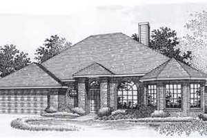 Traditional Exterior - Front Elevation Plan #310-922