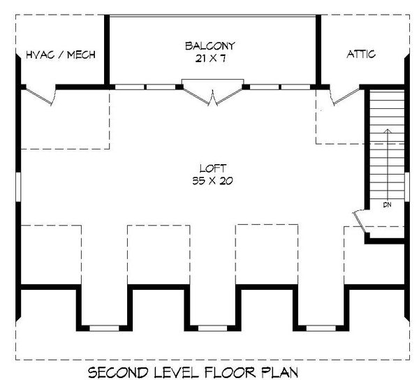 Country Floor Plan - Upper Floor Plan Plan #932-183