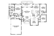 Country Style House Plan - 3 Beds 2.5 Baths 2310 Sq/Ft Plan #456-24 Floor Plan - Main Floor Plan