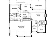 Traditional Style House Plan - 2 Beds 2 Baths 1559 Sq/Ft Plan #126-237 Floor Plan - Main Floor