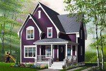 Dream House Plan - Farmhouse Exterior - Front Elevation Plan #23-820