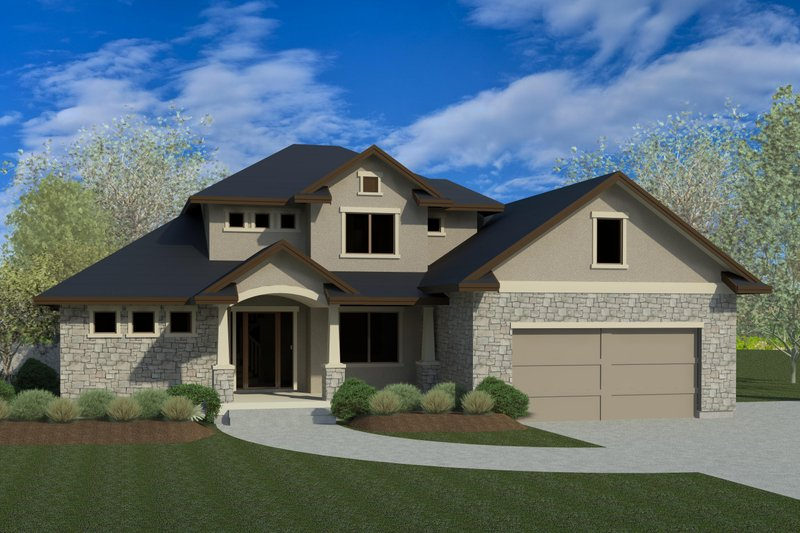 Home Plan - Traditional Exterior - Front Elevation Plan #920-11