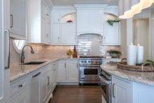 Bungalow Interior - Kitchen Plan #928-9