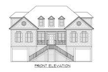 Dream House Plan - Beach Exterior - Front Elevation Plan #1054-68