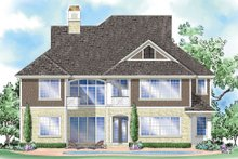 Country Exterior - Rear Elevation Plan #930-281