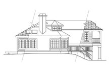 Contemporary Exterior - Other Elevation Plan #124-261