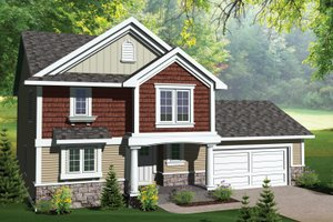 Traditional Exterior - Front Elevation Plan #70-1068