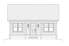 Dream House Plan - Country Exterior - Front Elevation Plan #932-191