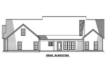 Farmhouse Exterior - Rear Elevation Plan #923-102