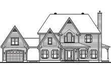 Farmhouse Exterior - Rear Elevation Plan #23-877