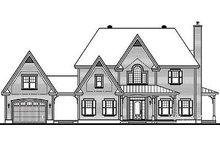 House Plan Design - Farmhouse Exterior - Rear Elevation Plan #23-877