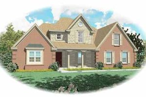 Traditional Exterior - Front Elevation Plan #81-231