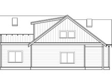 Craftsman Exterior - Other Elevation Plan #895-97