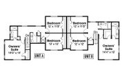 Country Style House Plan - 6 Beds 6 Baths 3114 Sq/Ft Plan #124-1078 Floor Plan - Upper Floor Plan