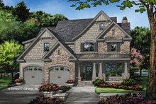 House Plan Design - Craftsman Exterior - Front Elevation Plan #929-1031